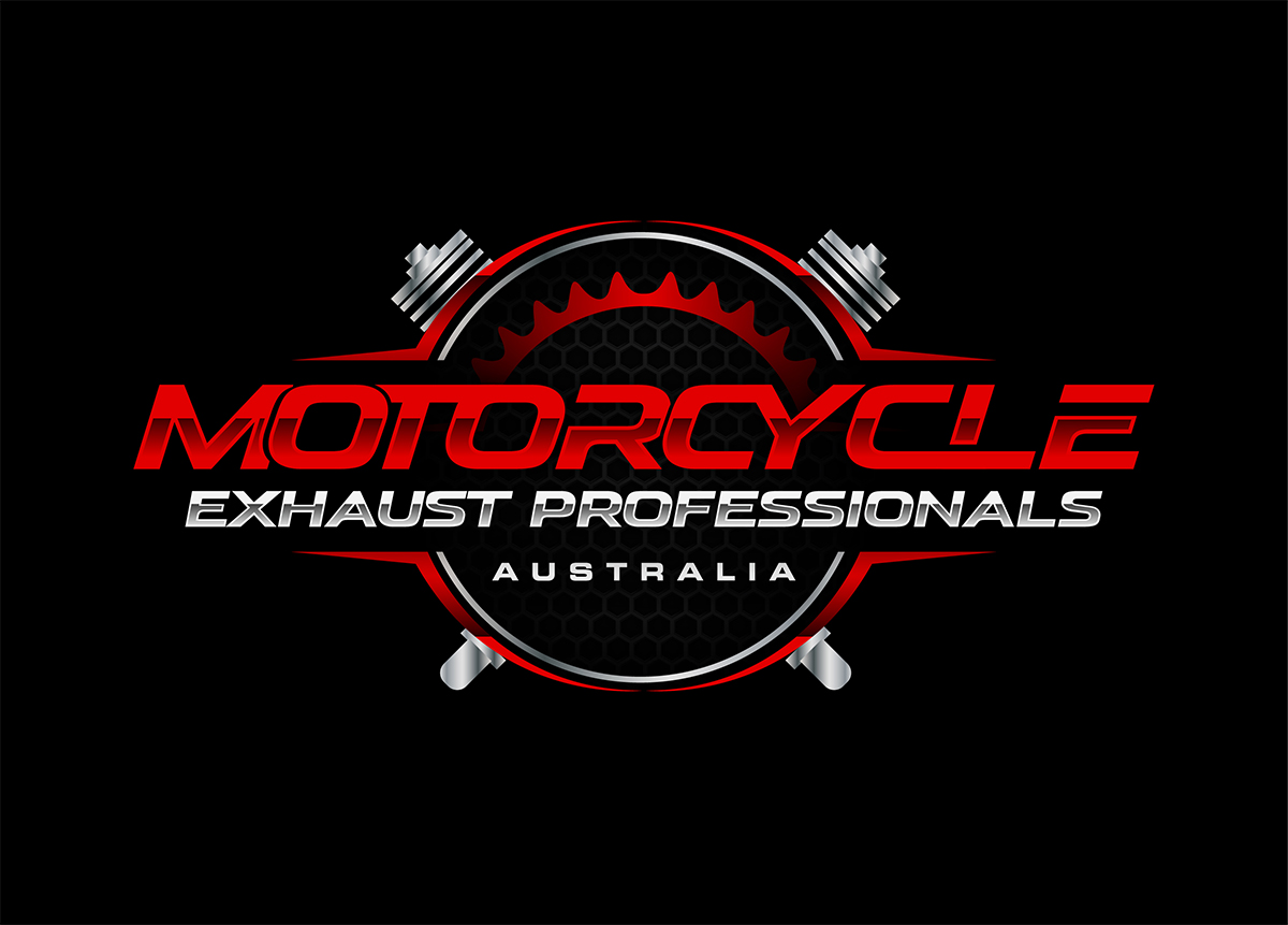 Logo Design For Motorcycle Exhaust Professionals Australia By Alleria Designz Design 19910072