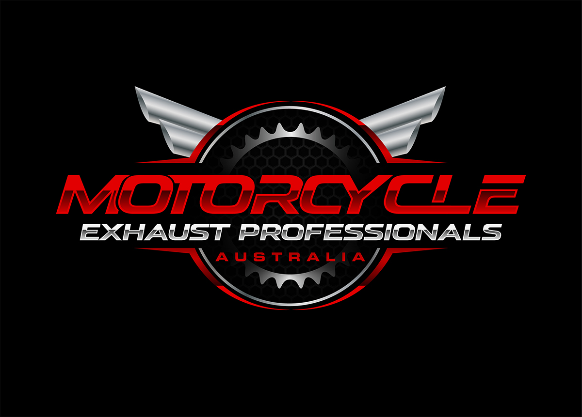 Logo Design For Motorcycle Exhaust Professionals Australia By Alleria Designz Design 19918621
