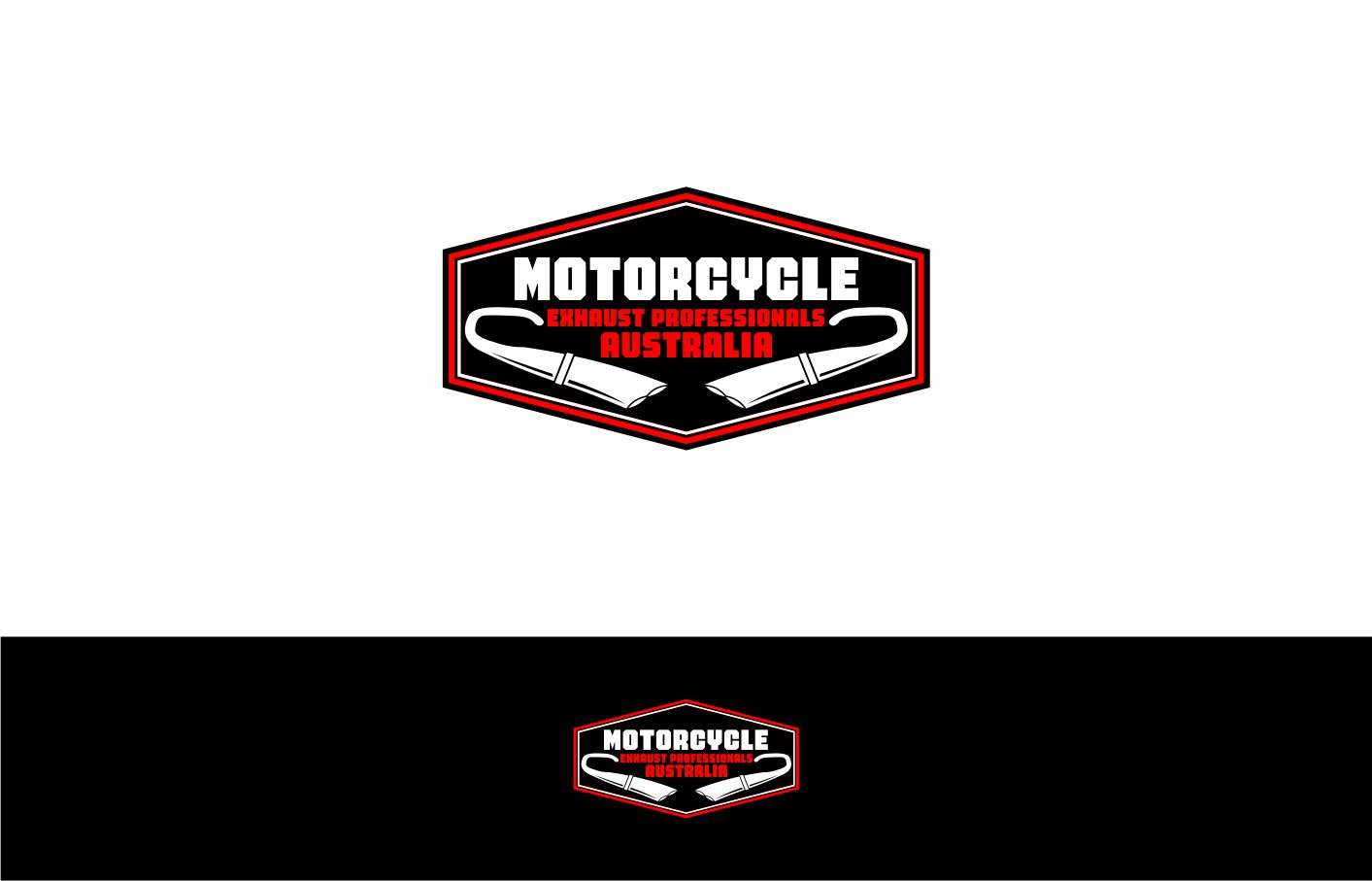 Logo Design For Motorcycle Exhaust Professionals Australia By Kkopi Design 19954713