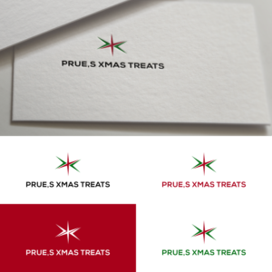 Prues Xmas Treats Logo Design By Suthita 2