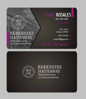 94 Economical Business Card Designs Realtor Business Card Design