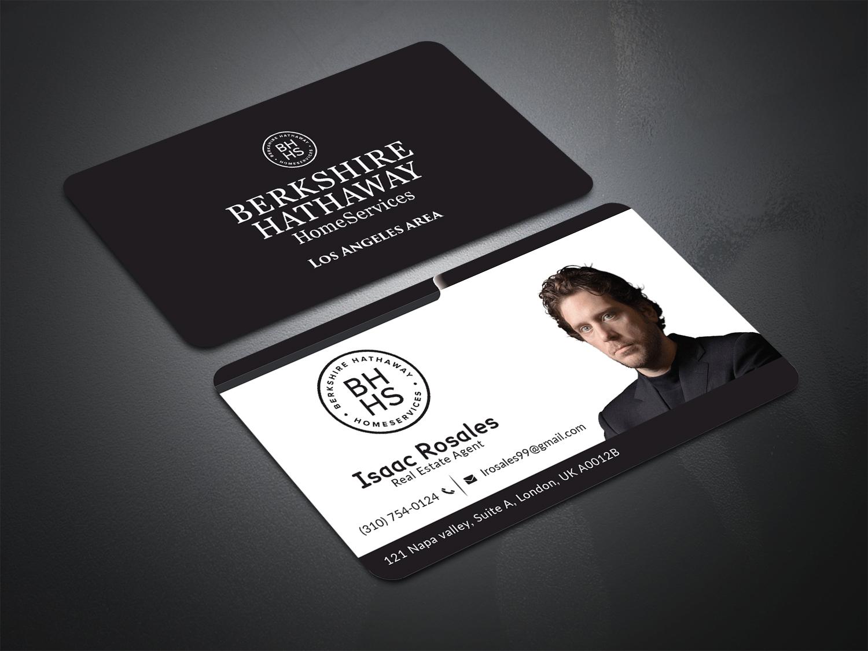 Economical Traditional Realtor Business Card Design For Berkshire
