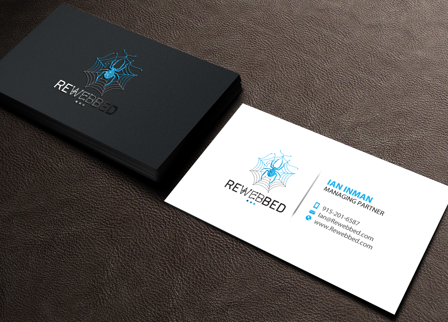 Elegant Playful It Company Business Card Design For A
