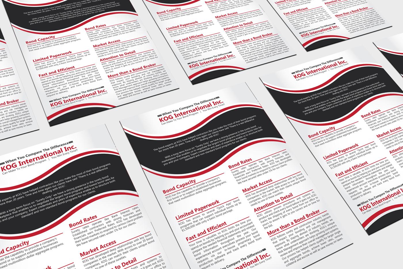 Elegant, Playful Flyer Design for a Company by Prism