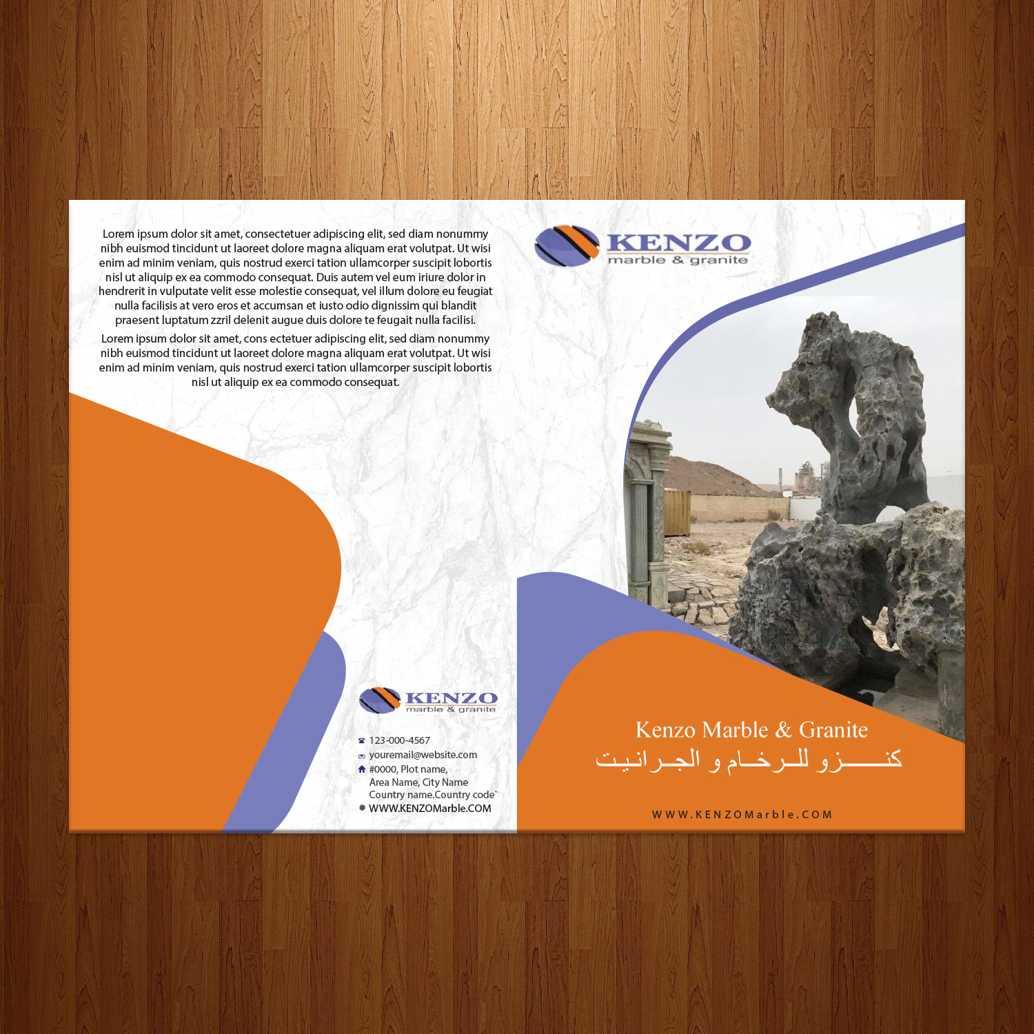 Professional, Serious, Construction Brochure Design for a