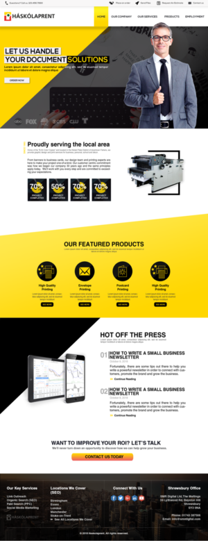 Printing Web Designs | 116 Websites to Browse