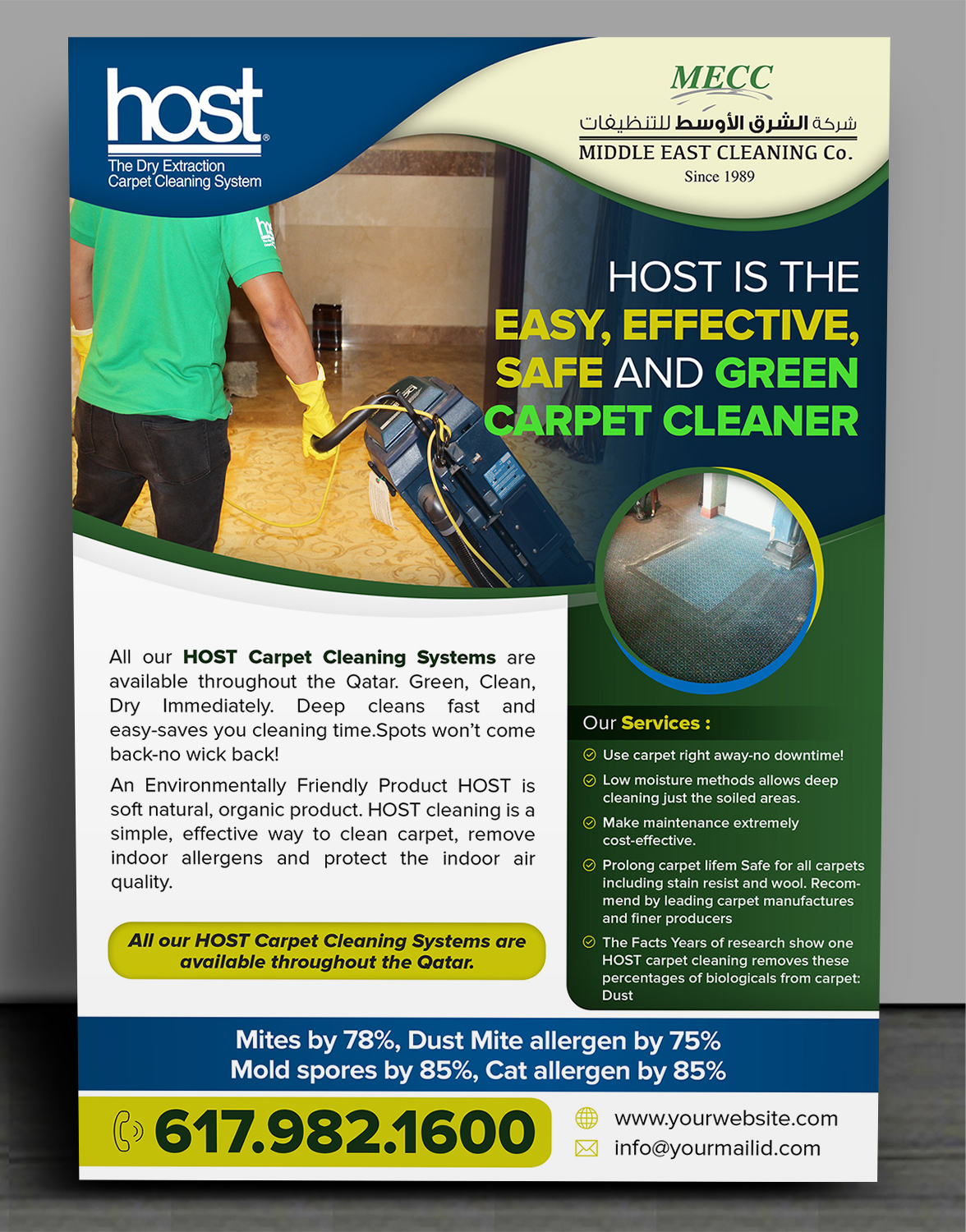 elegant playful house cleaning flyer design for a company in qatar design 19969770