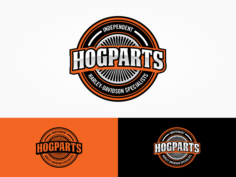 Logo Design For Hogparts Hard Parts For Harley Davidson Or Independent Harley Davidson Specialists By Ttk Design 19988899