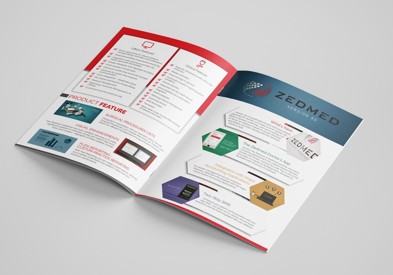 Elegant, Modern, Medical And Science Brochure Design for