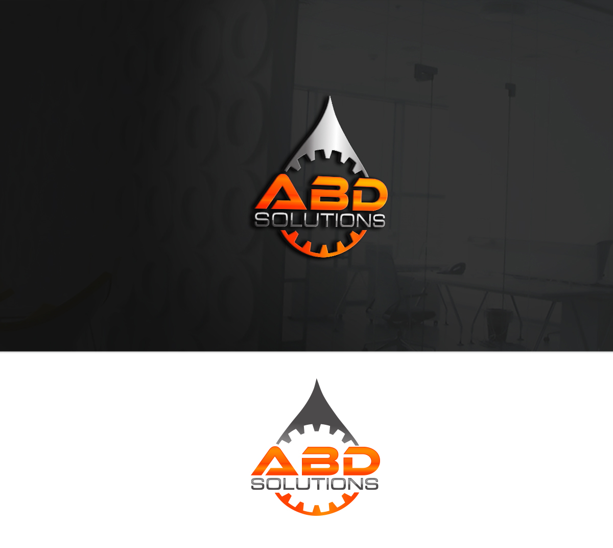 Logo Design By AXE For ABD Solutions