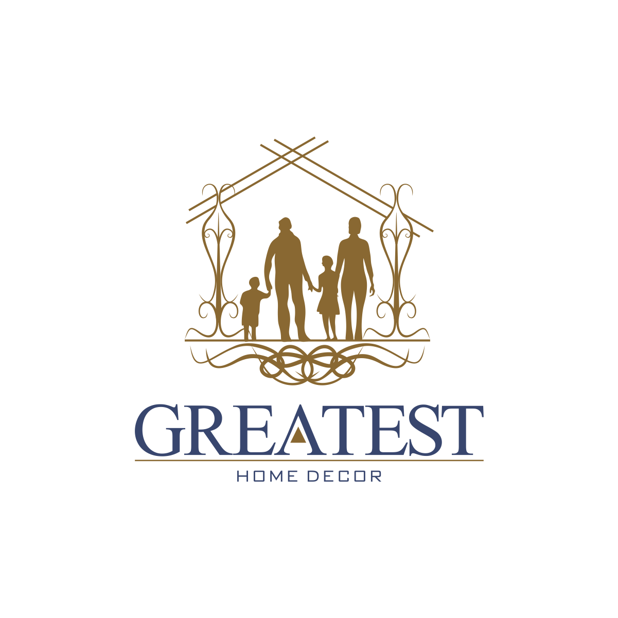Logo Design For Greatest Home Decor By Moisesf Design 20049381