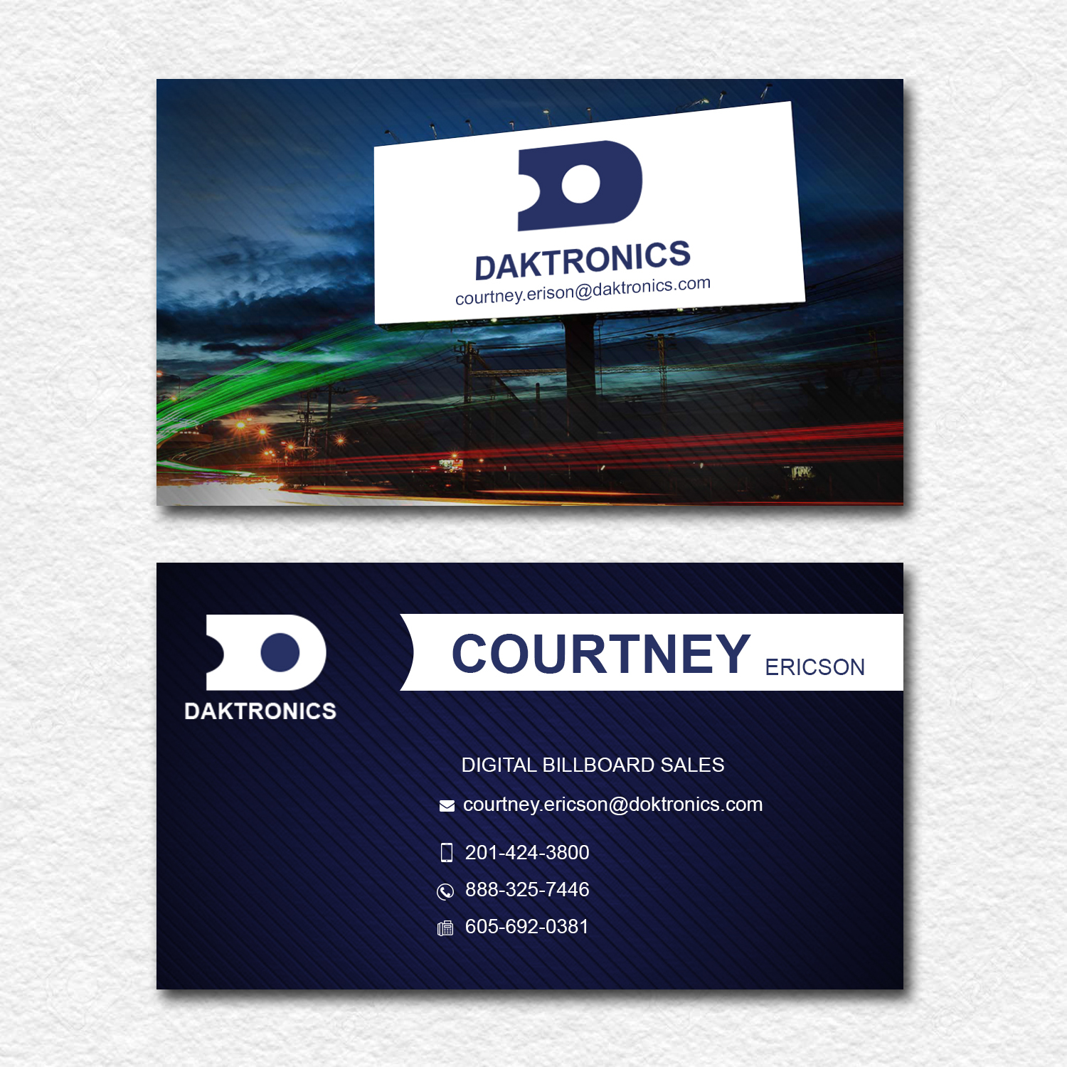 Business Card Design for a Company by Trendzdesign | Design