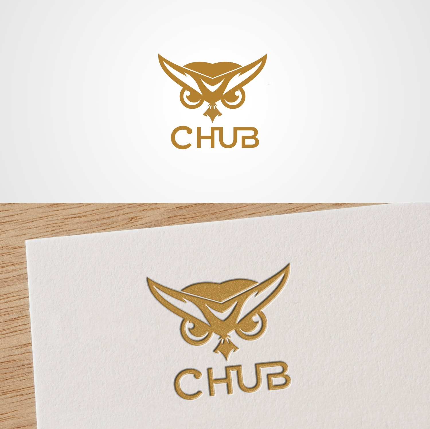 Elegant, Playful Logo Design for C HUB by Joenet Jayawarna | Design