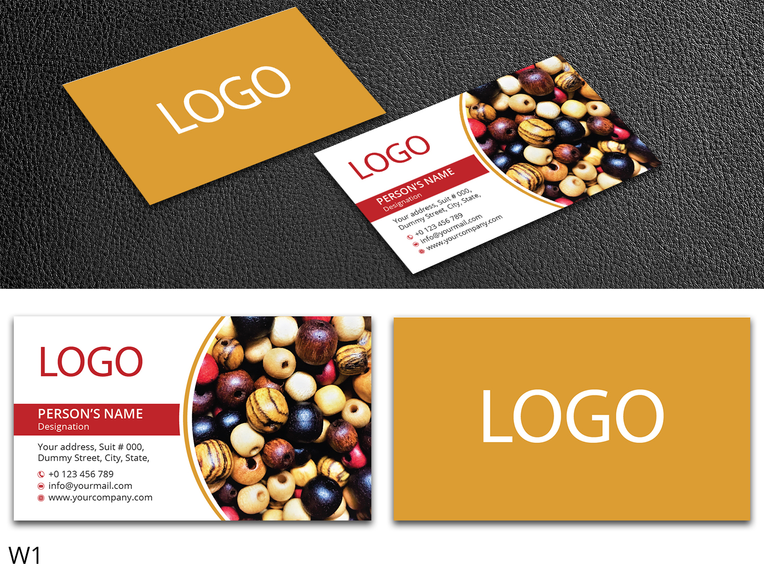 Colorful, Playful Business Card Design for a Company by