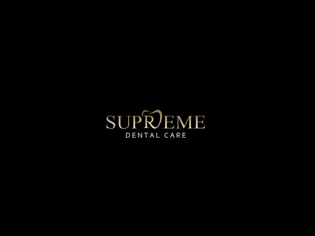 Elegant Playful Logo Design For Supreme Dental Care By Mera