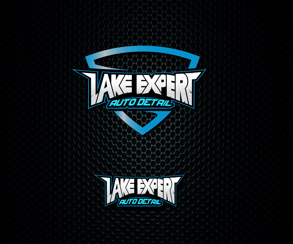 Modern Professional Logo Design For Lake Expert Auto Detail By