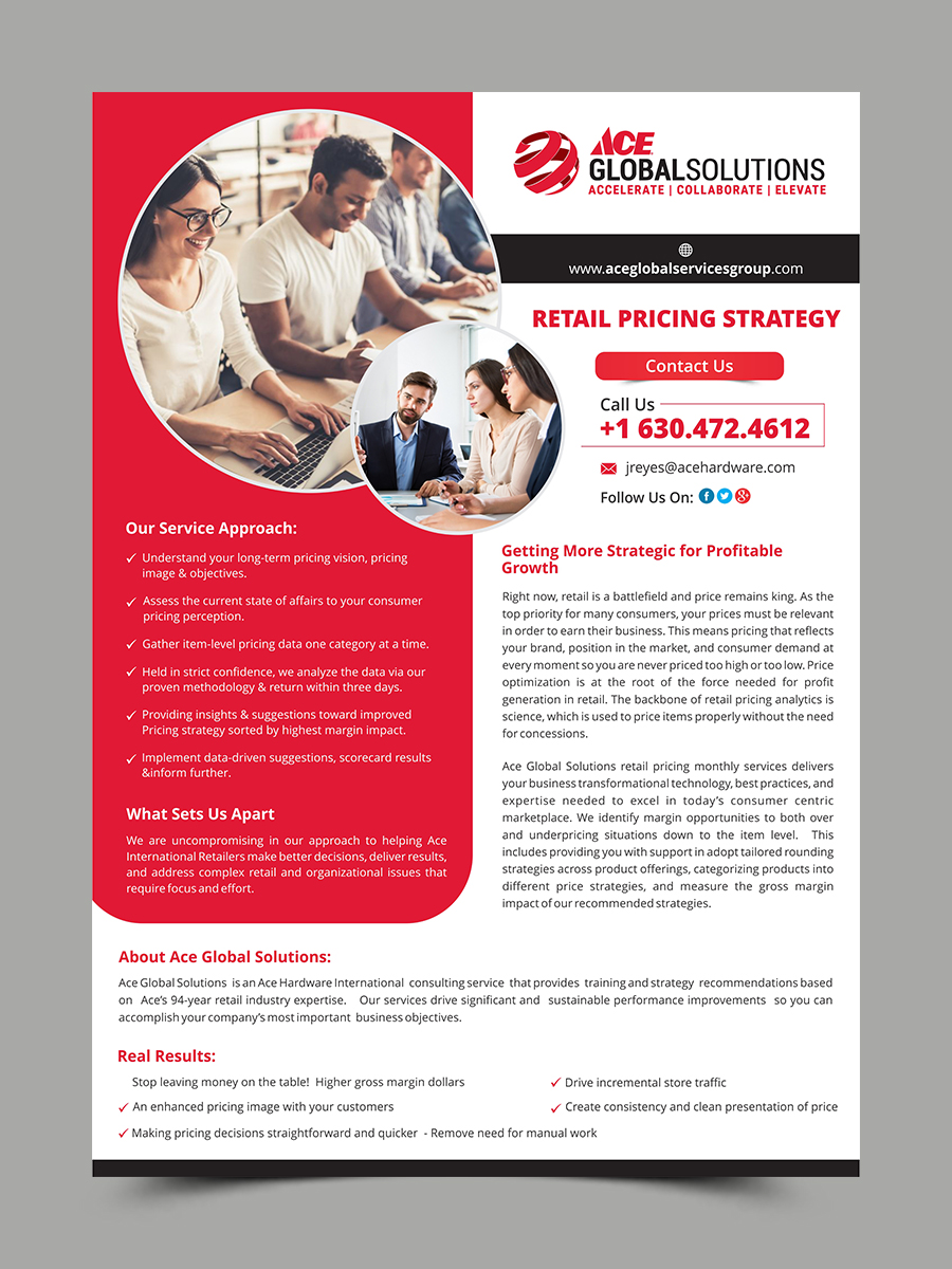 modern professional flyer design for a company by esolz