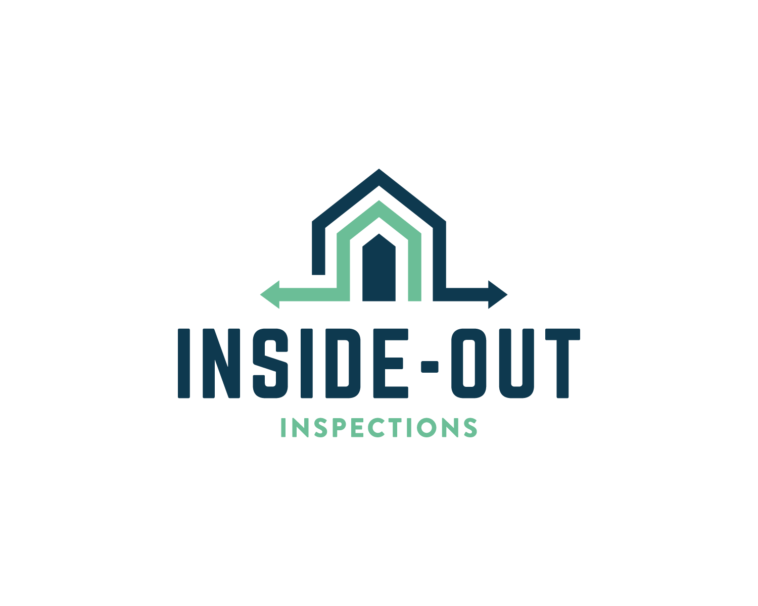 Modern, Professional, Home Inspection Logo Design for Inside
