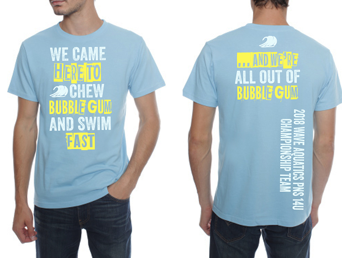 T-shirt Design for Wave Aquatics by NILDesigns | Design ...