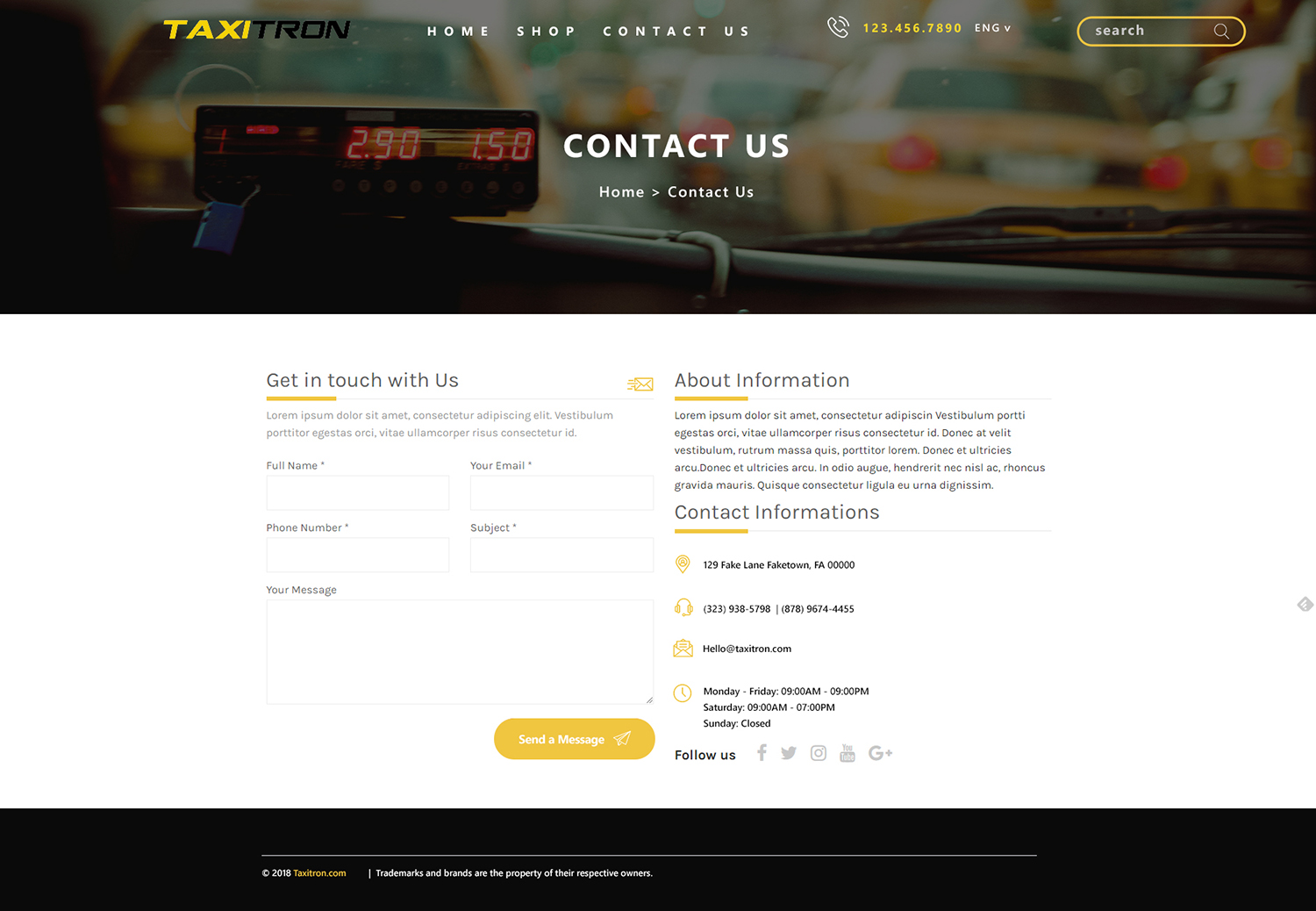 Elegant, Playful, Taxi Web Design for Taxitron Oy by We Are