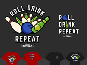 T Shirt Design Job Bowling Team Shirts