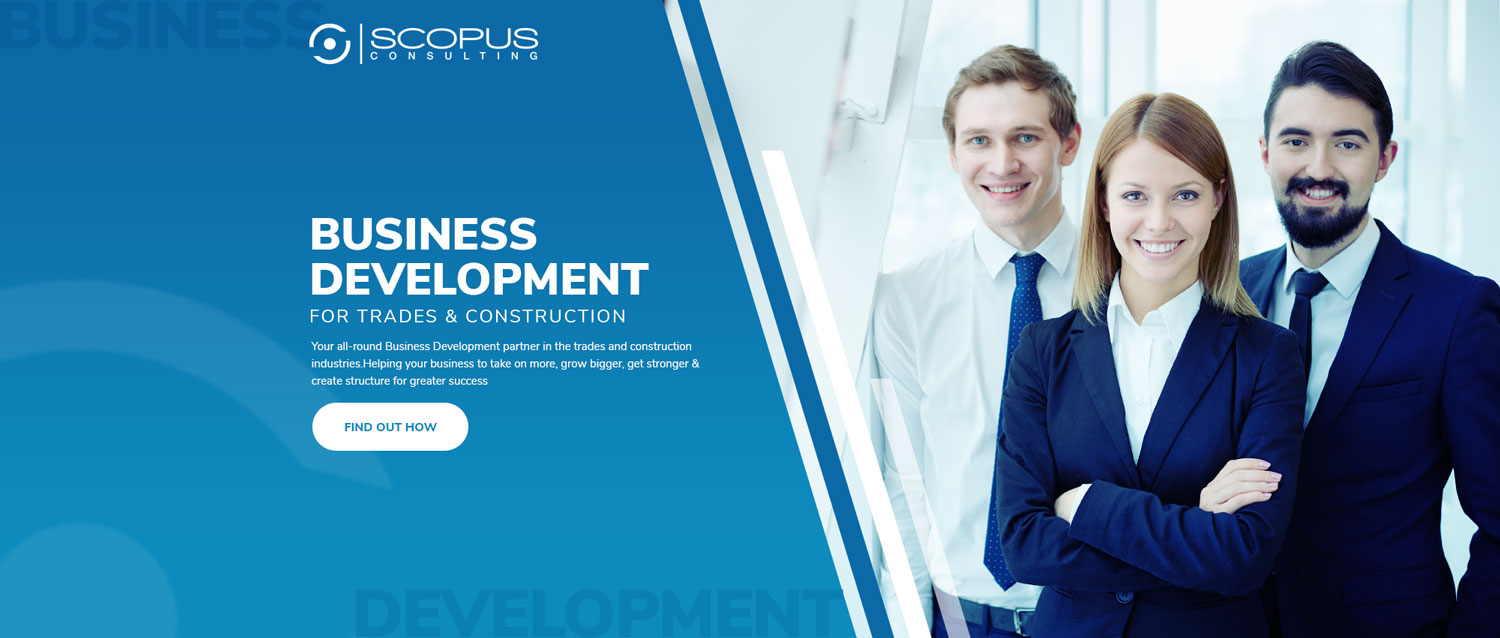 Modern Masculine Banner Ad Design For Scopus Consulting By Designconnection Design 20224685