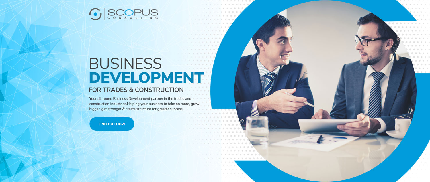 Modern Masculine Banner Ad Design For Scopus Consulting By Designconnection Design 20224686
