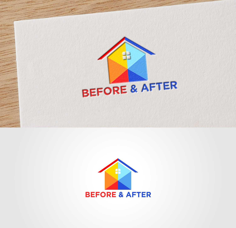 Bold Modern Home Improvement Logo Design For Before After Can Use The Initials B A By Joenet Jayawarna Design 20211636
