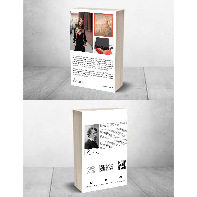 Professional Upmarket Fashion Flyer Design For Meno Tekstile Ltd Code 304411169 In Lithuania