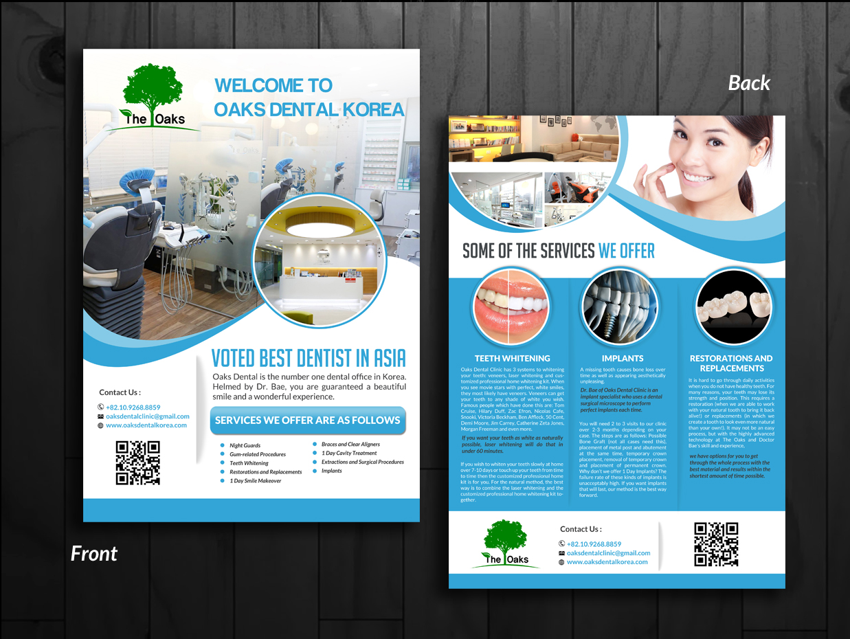 Modern, Professional, Medical Flyer Design for a Company by