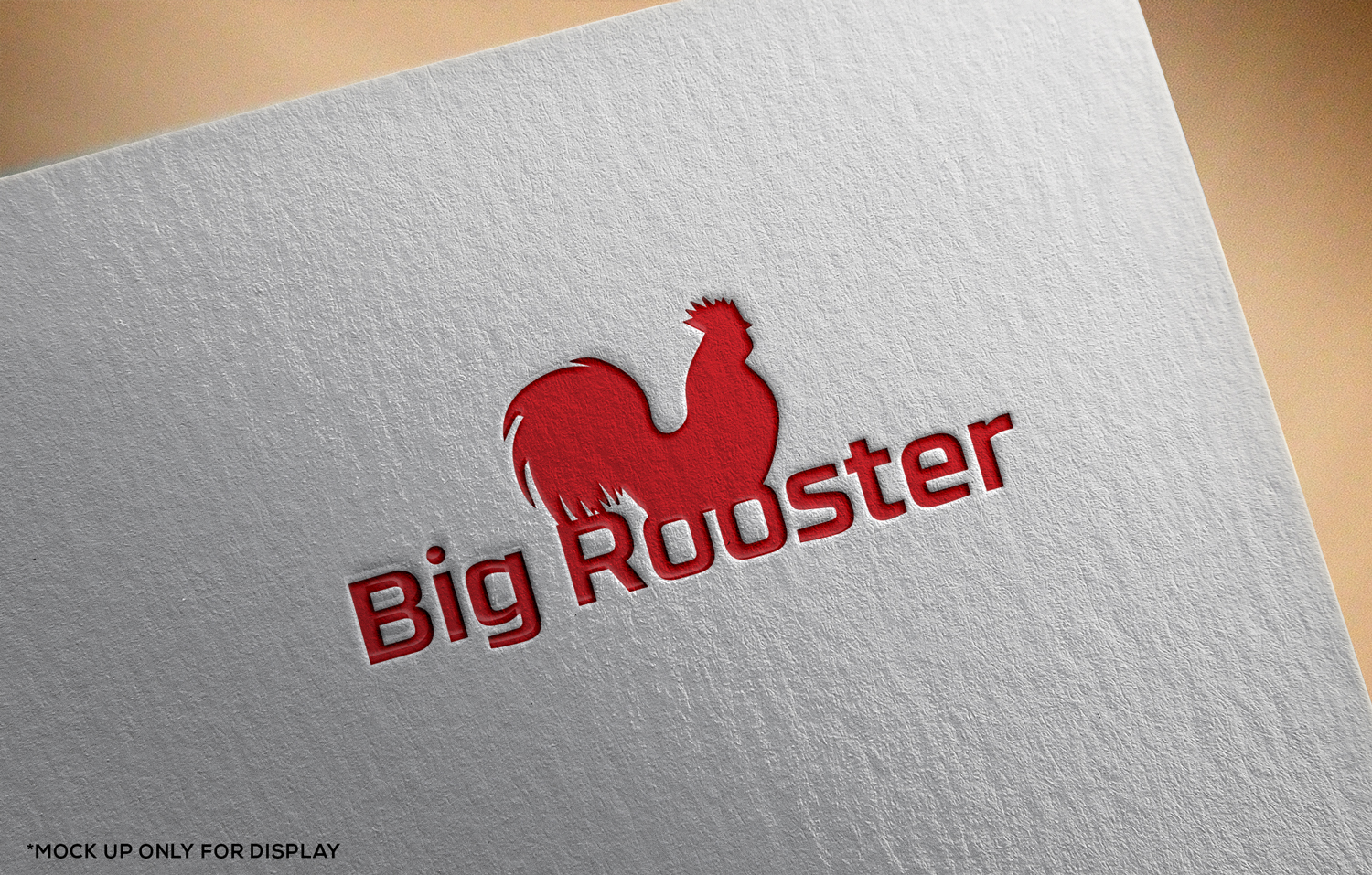Feminine Modern Fast Food Chain Logo Design For Big Rooster By