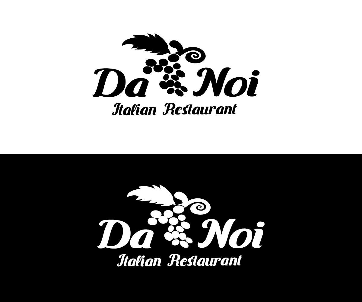 Logo Design For Da Noi Italian Restaurant By Creativefeather Design 20247722