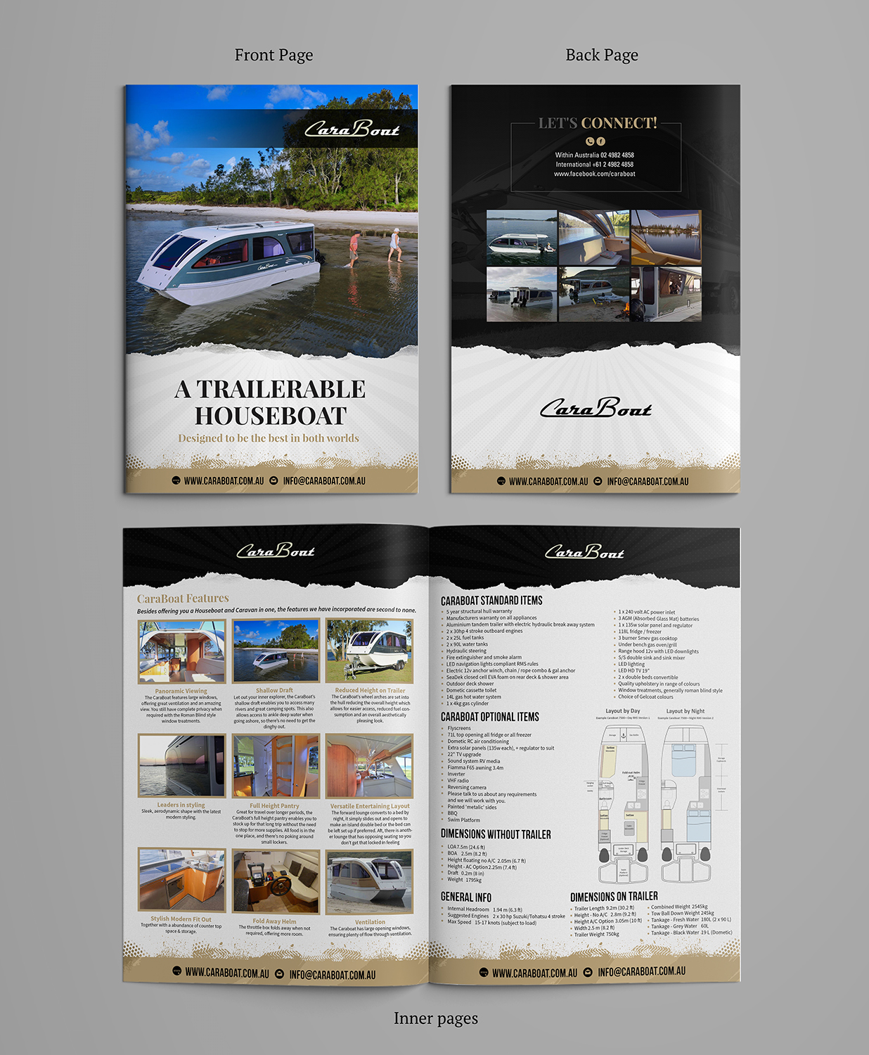 Modern Professional Graphic Design For Caraboat By Sd