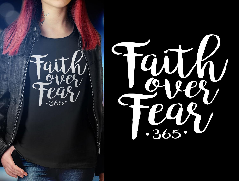 Personable, Feminine, Christian T-shirt Design for Sharp Designs