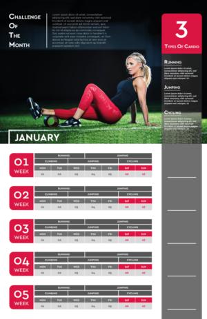 Calendar Design by HamzaMalik