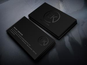 Professional Upmarket Business Card Design Job Business Card Brief