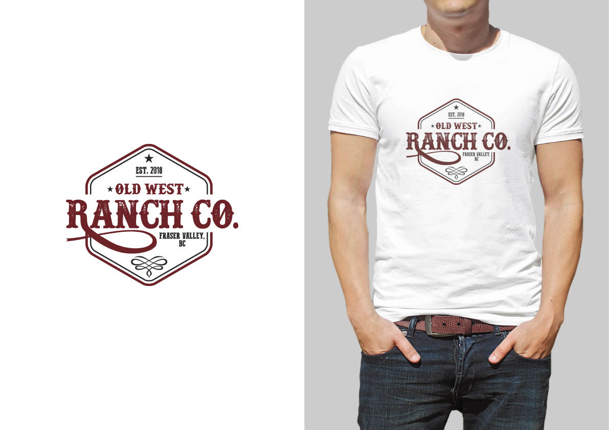Elegant, Playful Logo Design for Old West Ranch Co  by The