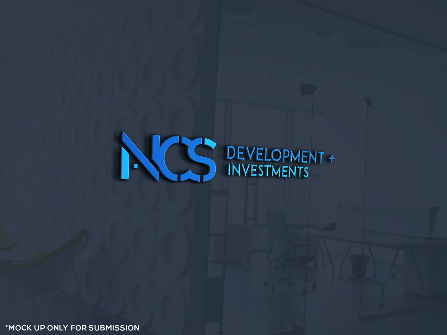 Logo Design for NCS Development + Investments by graphybuzz