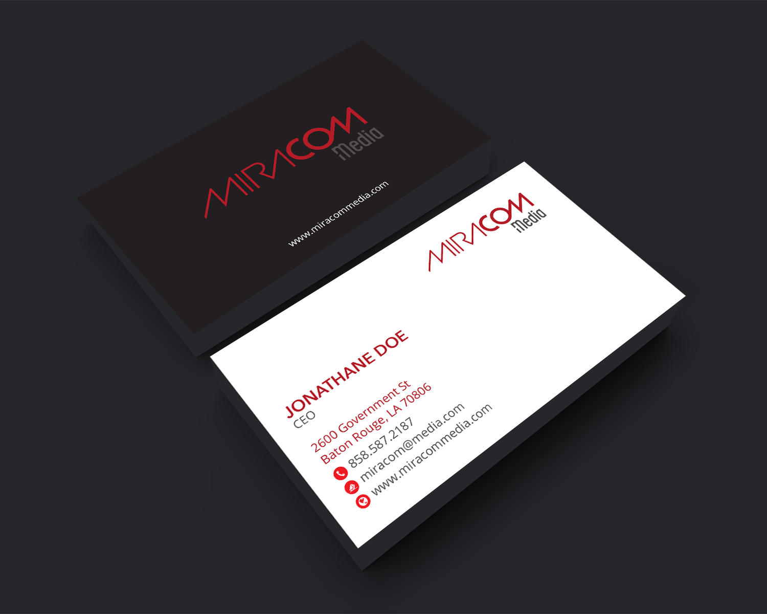 Professional Modern Business Card Design For Open Circuit