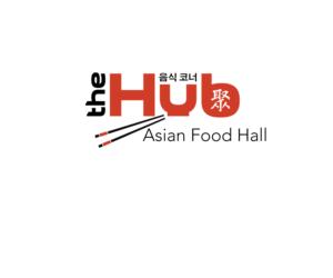 The Hub, Asian Food Hall, ?? ??, ? | Logo Design by Simon Hon