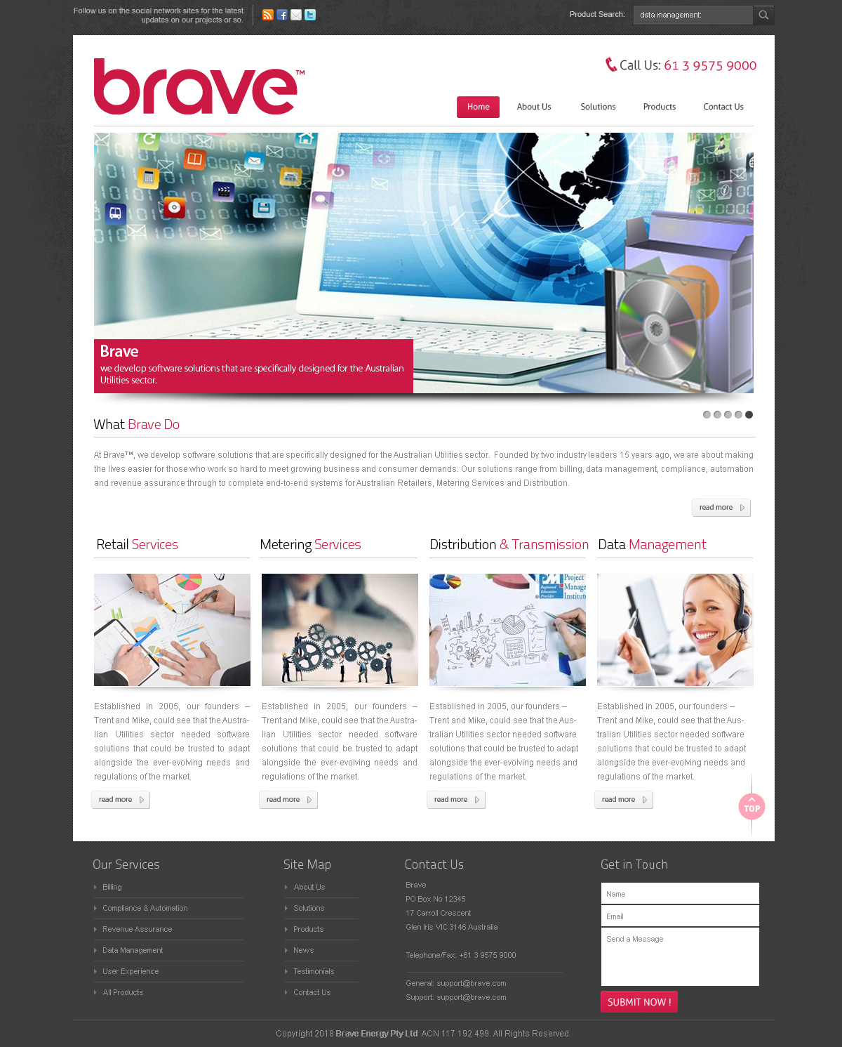 Web Design for a Company by Banjara Mood 2 | Design #20382293