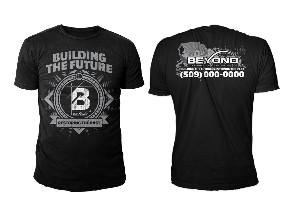 Contractor T-shirt Design for a Company by saiartist ... |General Contractor Shirt Design