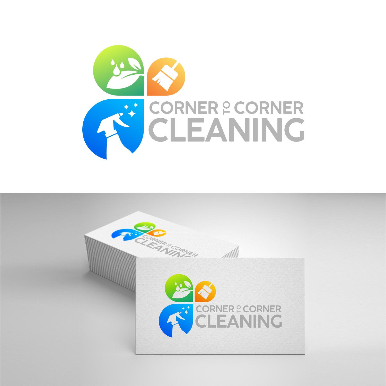 Elegant Modern Cleaning Service Logo Design For Corner To Corner Cleaning By Kpgroup Design 20401935