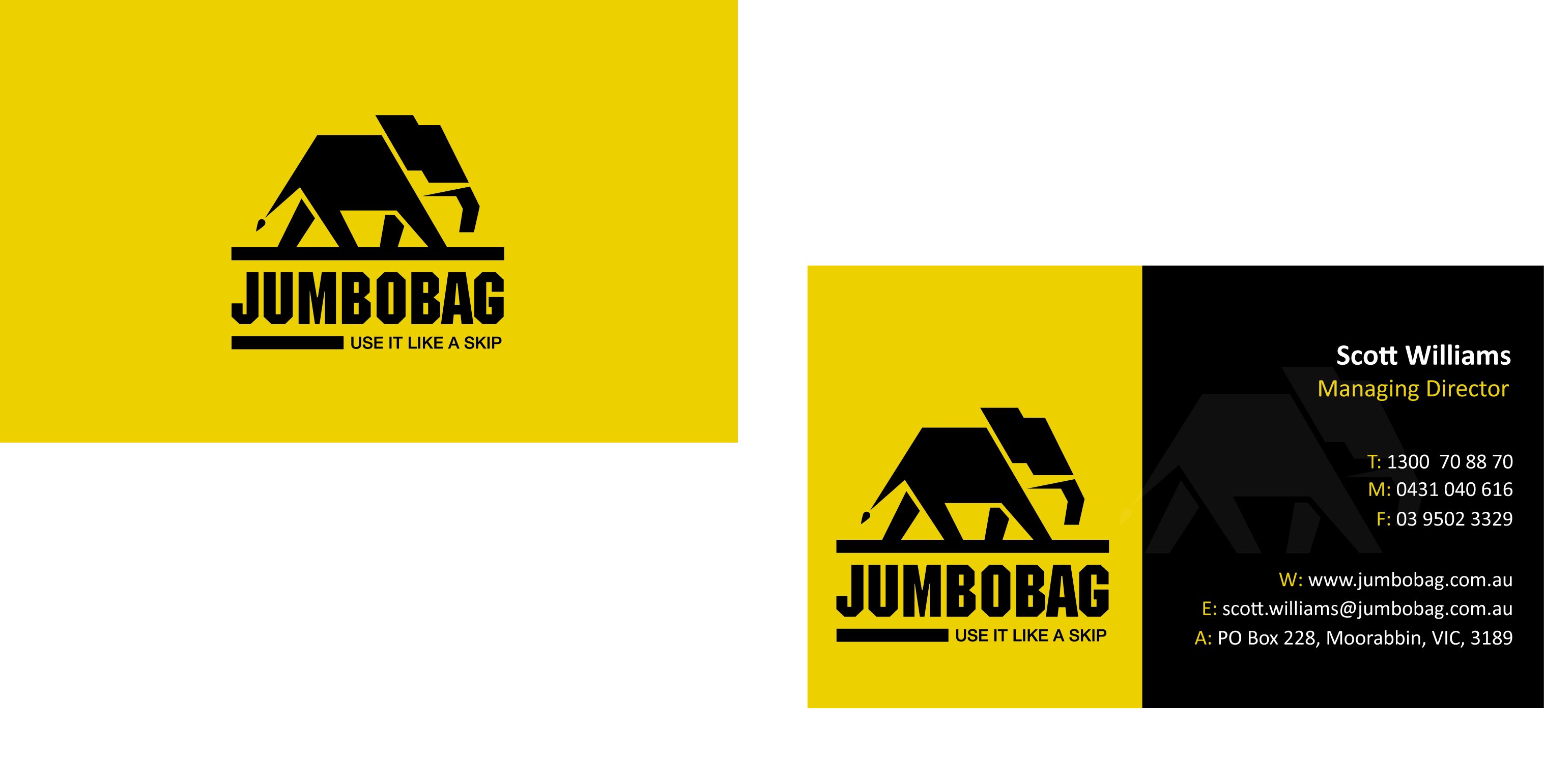 construction business card ideas