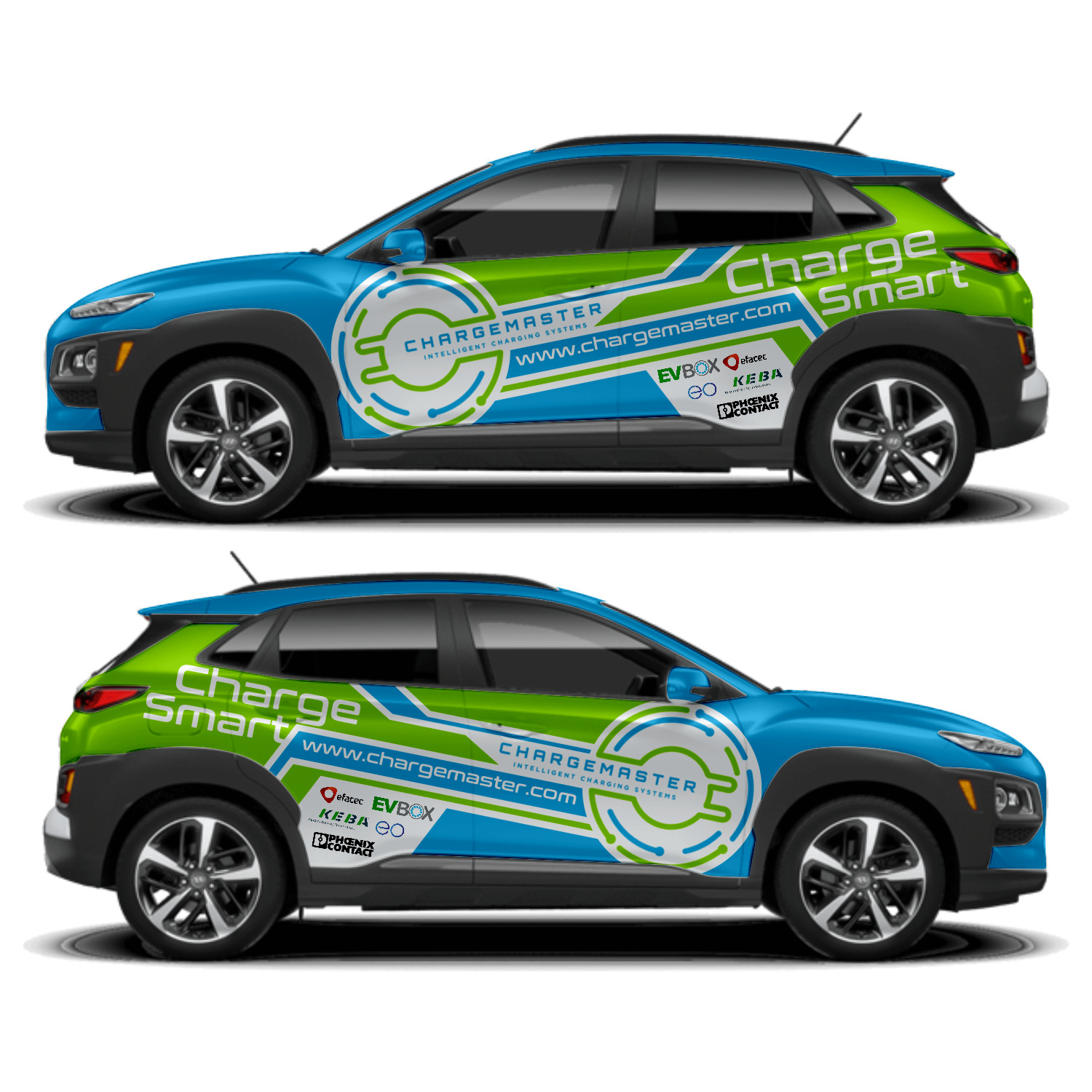 3e027907c9 Car Wrap Design by DG+ for this project