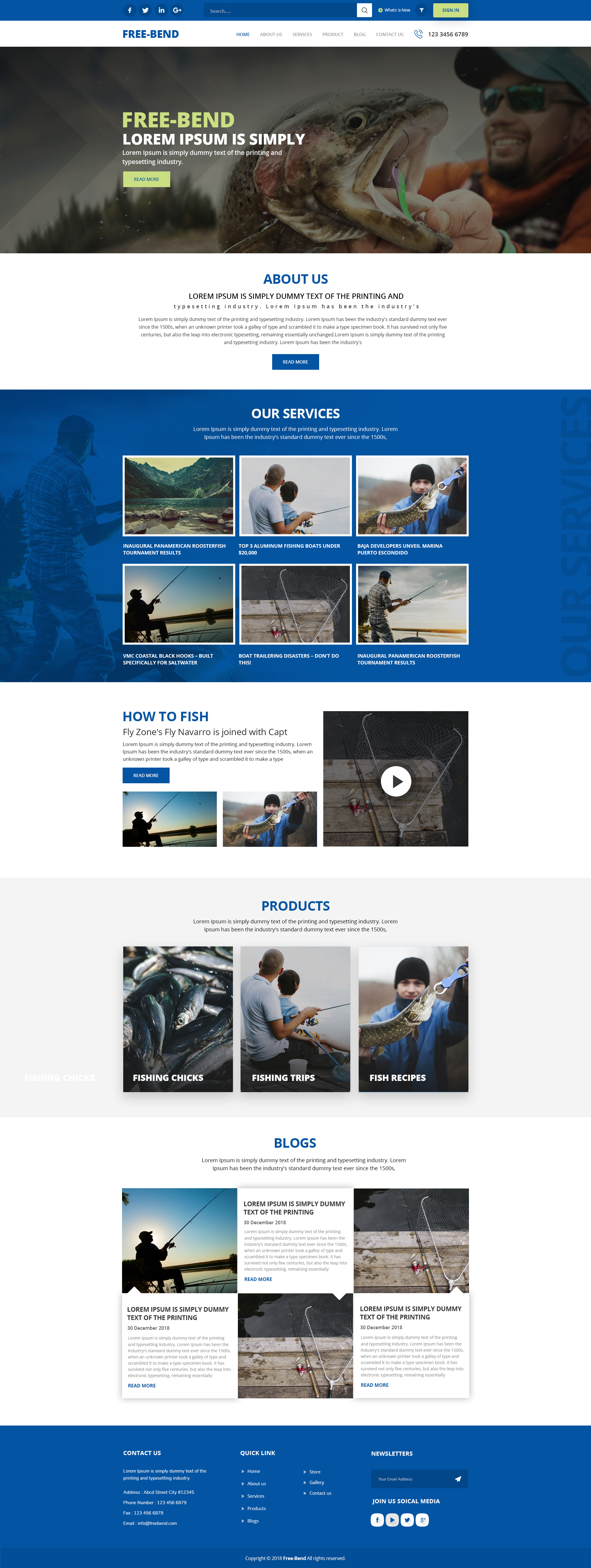 responsive gallery template free download