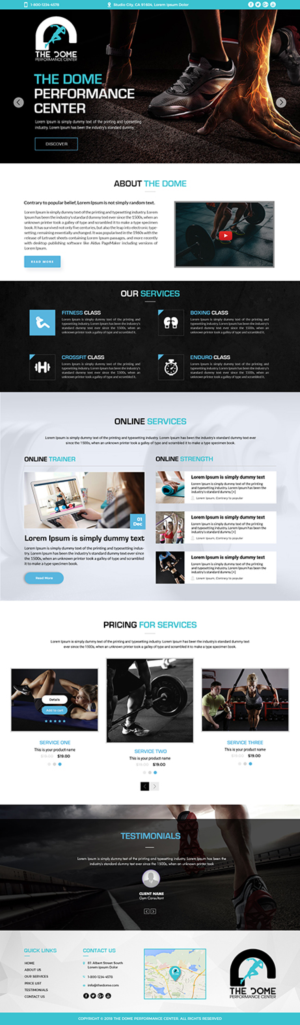 Landing Page Design by SD WEBCREATION