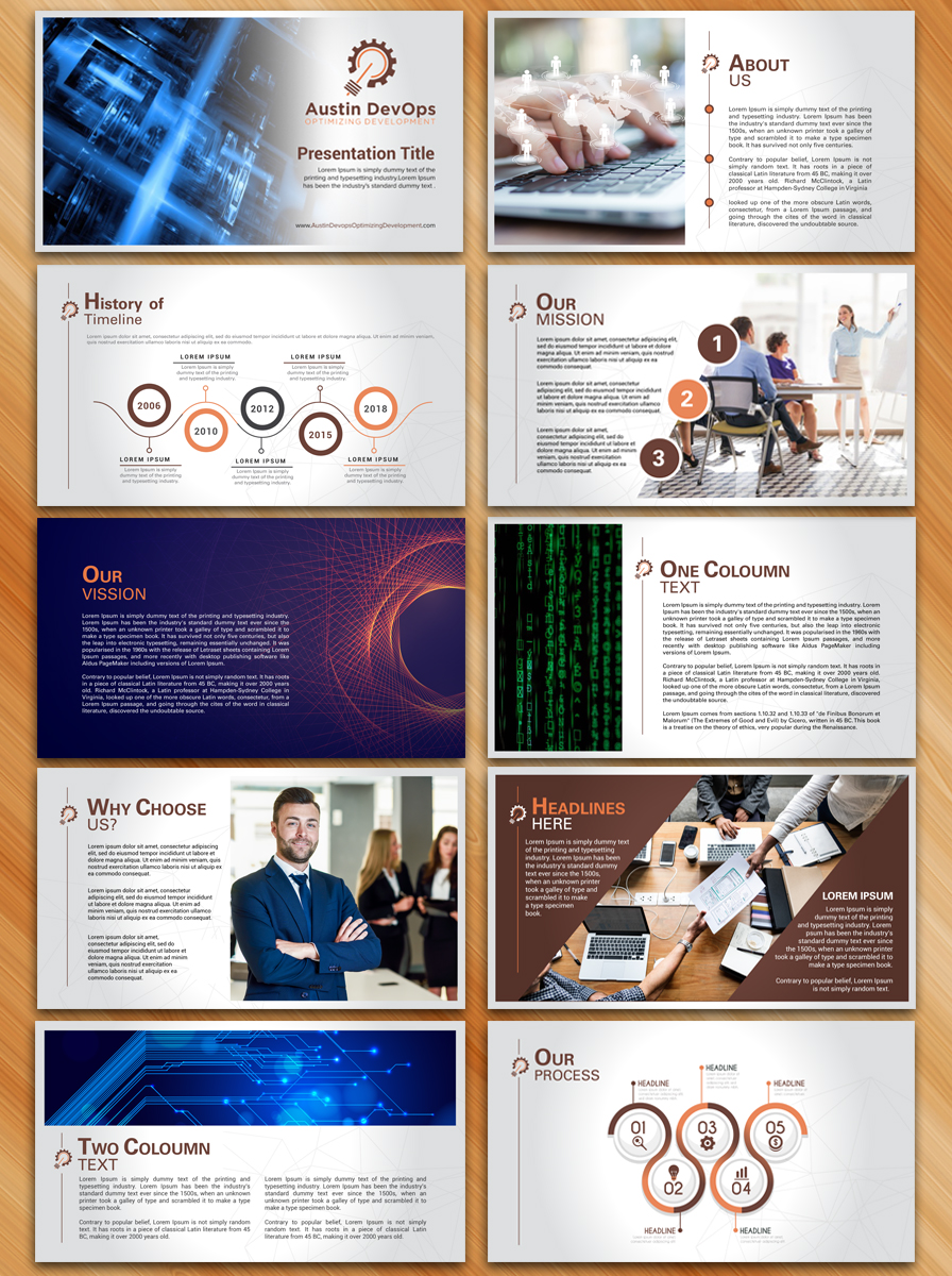 PowerPoint Design for a Company by Sarmishtha Chattopadhyay | Design