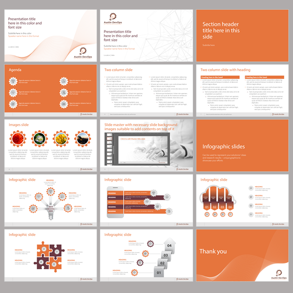 Powerpoint Design For A Company By Dhuruvam Design 20507847
