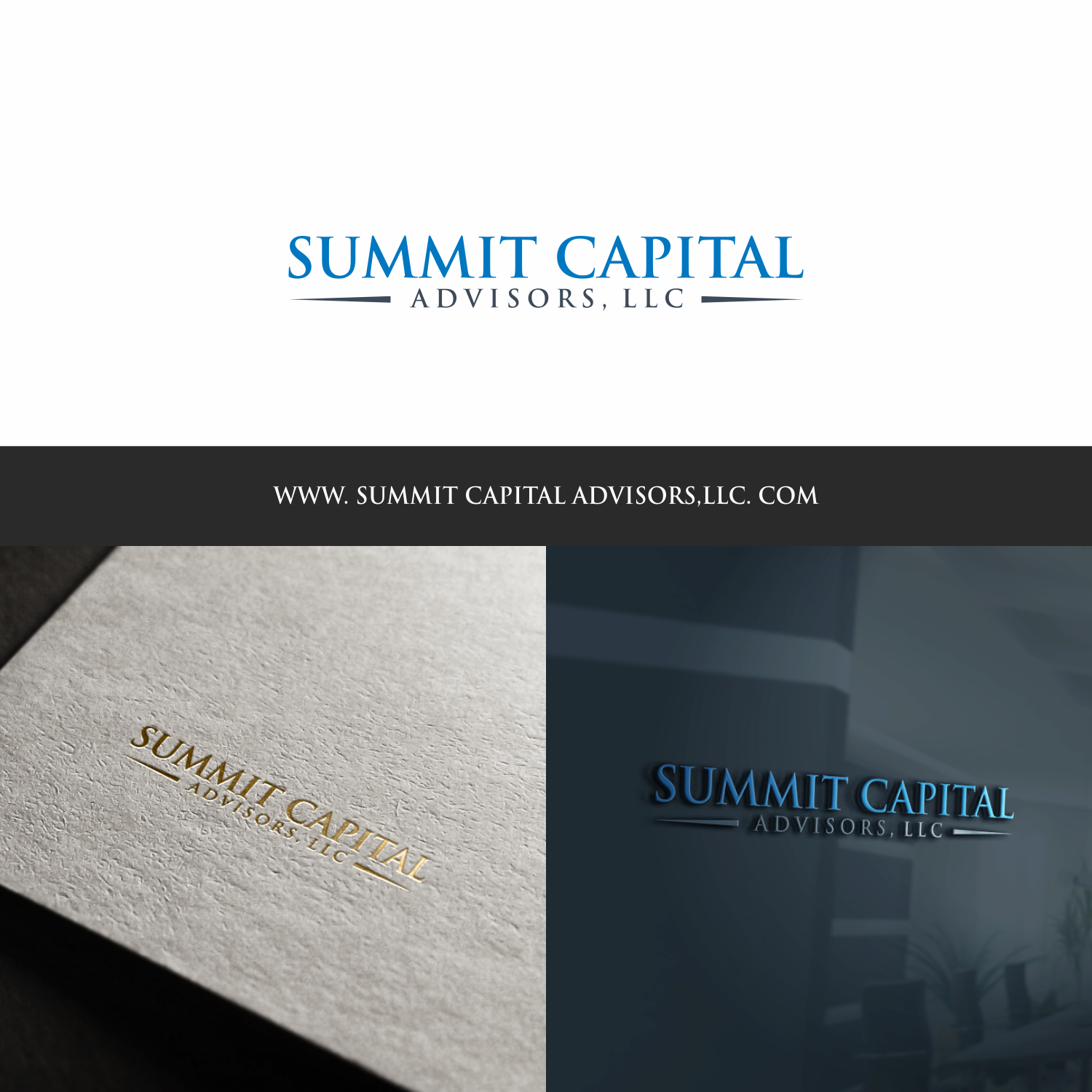 Serious, Conservative Logo Design for Summit Capital